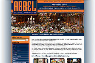 Web Design for Businesses - Abbel Rents and Sells - Dynamic Digital Solutions
