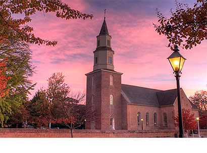 Bruton Parish Church at Colonial Williamsburg - Digital Photography - Dynamic Digital Solutions