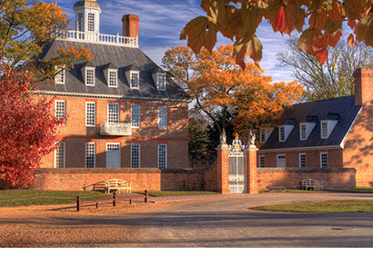 Colonial Williamsburg Governor's Palace - Digital Photography - Dynamic Digital Solutions