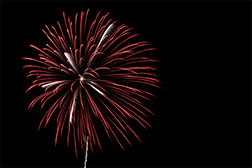 Gallery - Fireworks in Athens, Ohio