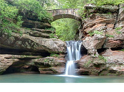 Upper Falls at Old Man's Cave - Digital Photography - Dynamic Digital Solutions