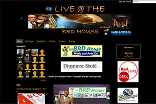 It's Live @ The BRD House - Old Website