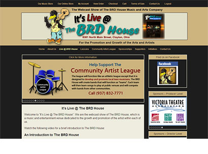 It's Live @ The BRD House - Web Design - Dynamic Digital Solutions