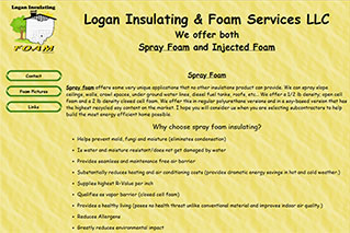 Logan Insulating and Foam Services - Old Website