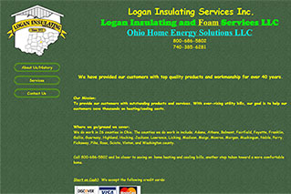 Logan Insulating Service - Old Website