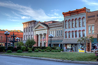 About Us - Photography - Nelsonville (Ohio) Public Square - HDR