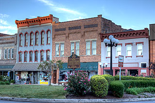 Panoramic Photos - Nelsonville Public Square - HDR
