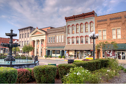 Nelsonville (Ohio) Public Square - Digital Photography - Dynamic Digital Solutions