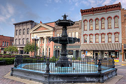 Gallery -Fountain on Nelsonville Public Square