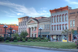 Photography for Communities - Nelsonville (Ohio) Public Square