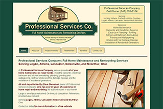 Web Design Portfolio - Professional Services Company - Dynamic Digital Solutions