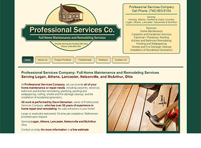 Professional Services Company - Web Design - Dynamic Digital Solutions