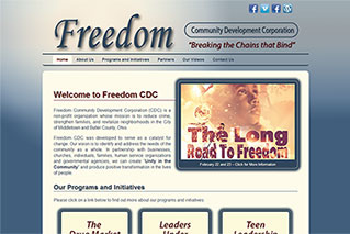 Web Design for Nonprofit Organizations - Freedom Community Development Corporation - Dynamic Digital Solutions