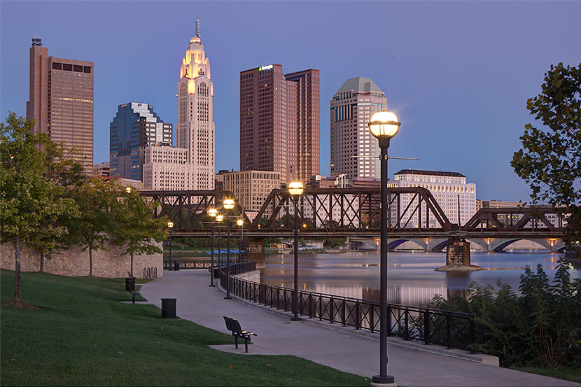 Photo Gallery - Downtown Columbus (Ohio) Skyline - Dynamic Digital Solutions