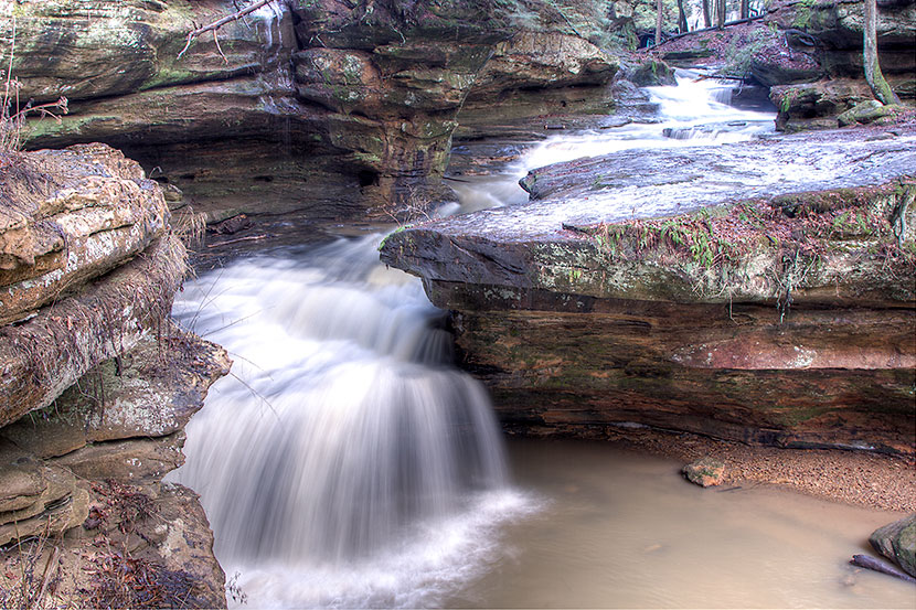 Photo Gallery - Middle Falls at Old Man's Cave - Dynamic Digital Solutions