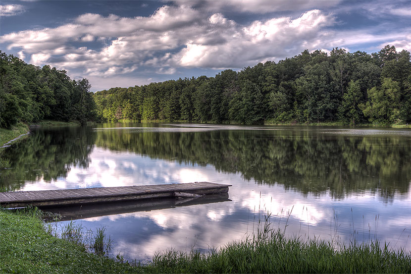 New Concord (Ohio) Village Reservoir - Photo by Don Holycross, Dynamic Digital Solutions